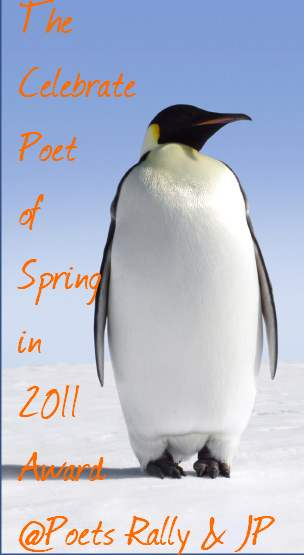 The Celebrate Poet of Spring in 2011 Award